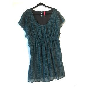 Pure Energy Plus Dress Size 4x 26 28 Green